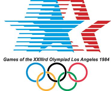 1984 ロサンゼルス五輪 ロゴ