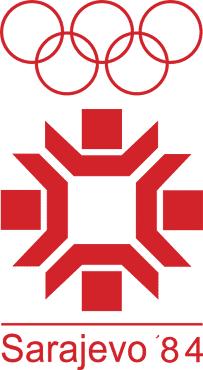 サラエボ五輪 - 1984年 冬 ロゴ