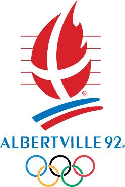 アルベールビル五輪 - 1992年 冬 ロゴ