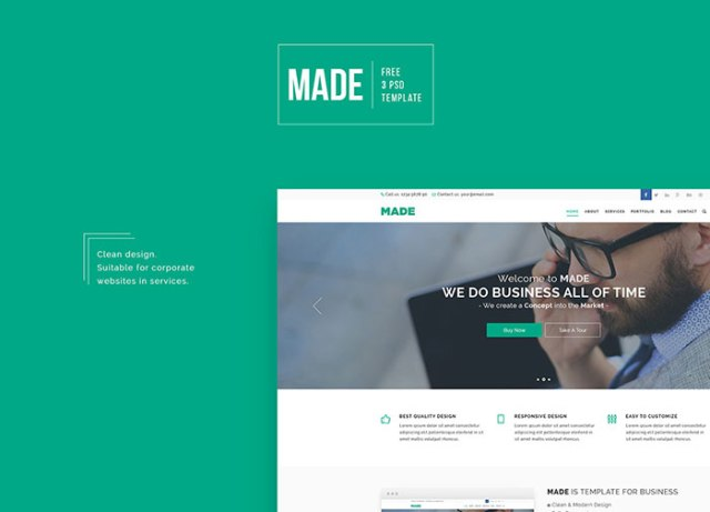 Made – Free Business Template