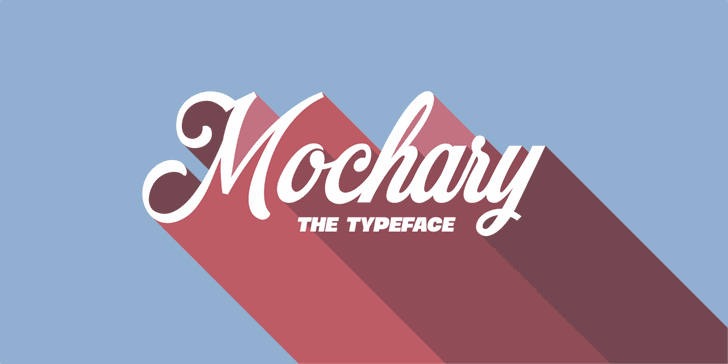 Mochary PERSONAL USE ONLY font
