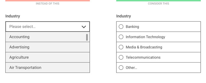 Select diverse