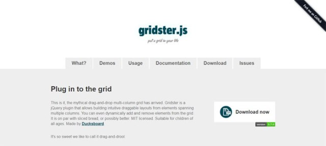 45. Gridster