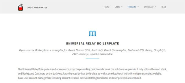 Universal-Relay-Boilerplate