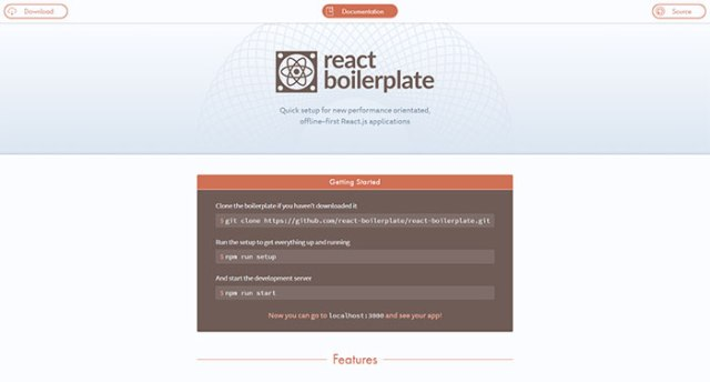 reactboilerplate.com
