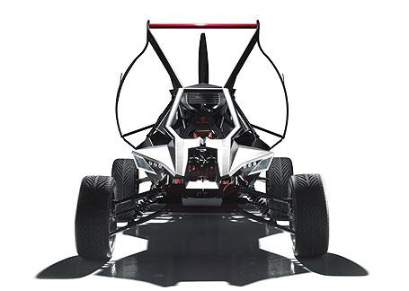 The Parajet SkyCar(パラジェットスカイカー)