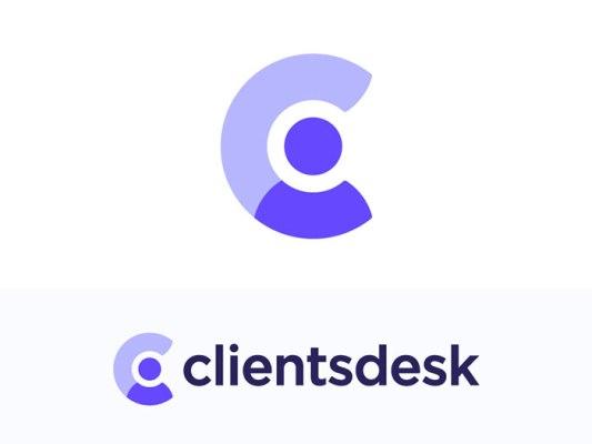 clients desk のロゴ