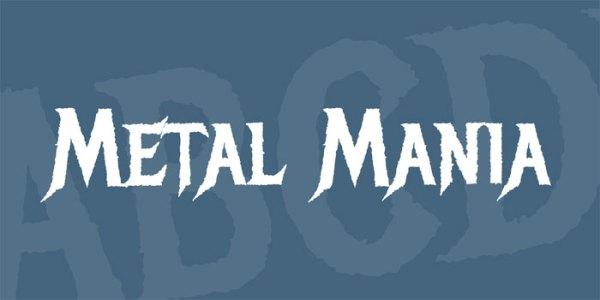 Heavy Metal Font