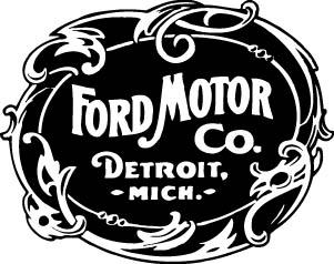 フォード 創業当時のロゴ