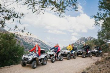 ATV Quad Safari Tour in Crete