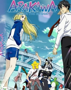 Assistir Arakawa Under the Bridge Episódio 8