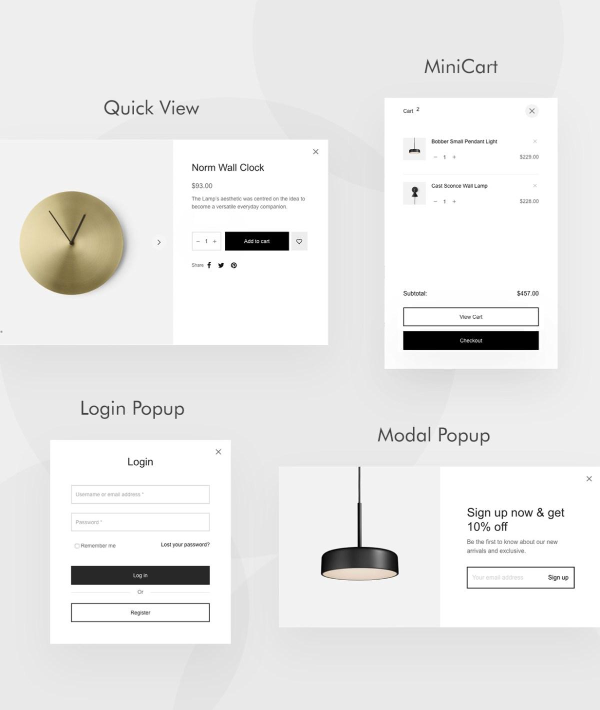 Shop Features