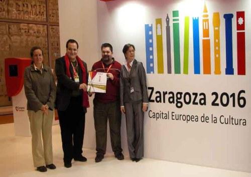 Entrega del premio de turismo cultural activo en FITUR 2009