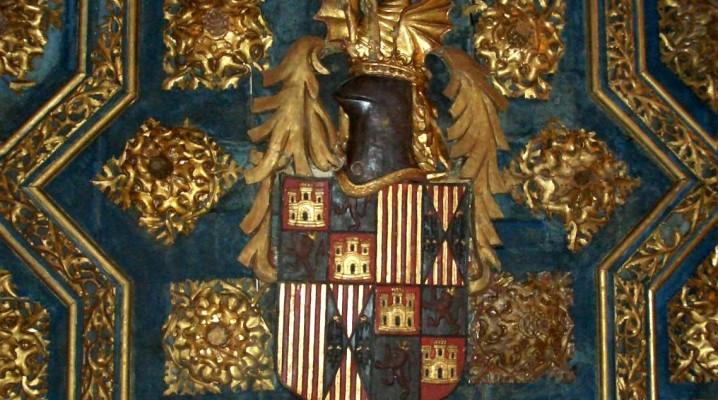 Aljafería escudo