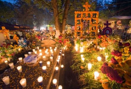 Resultado de imagem para dia de los muertos cementerio