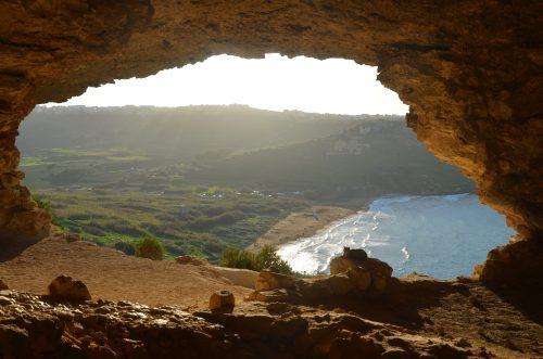 Tal Mixta Cave Gozo Ramla Bay