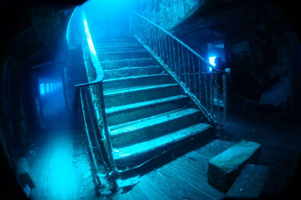 famous MV Karwela Staircase