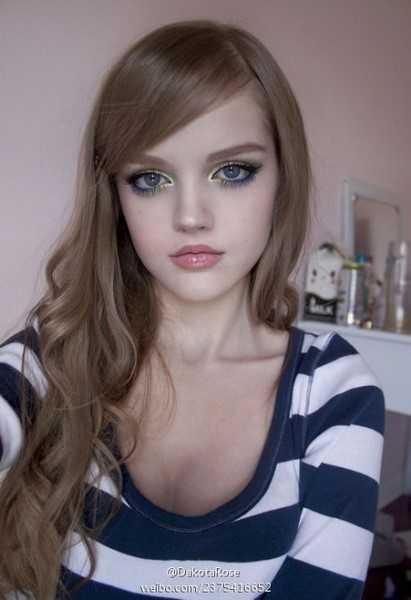 Дакота роуз без макияжа – Живая кукла Дакота Роуз. Без ...