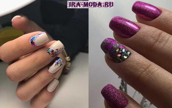 Хлопья юки на ногтях дизайн фото – дизайн ногтей, идеи для ...