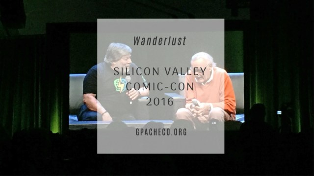Steve Wozniak and Stan Lee at the inaugural SVCC