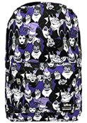 Disney Loungefly Villains Purple All Over Print Backpack