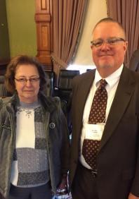 Representative Mary Gaskill & Dr. Jon Sheldahl (GPAEA)
