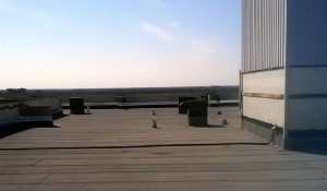 Finished commercial roof in Winnipeg