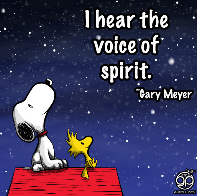 i hear the voice of spirit