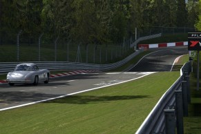 Side view of Pflanzgarten just before the dangerous turn.