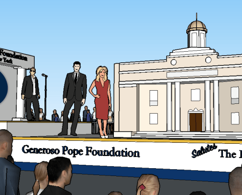 Generoso Pope Foundation Tuckahoe David New Float