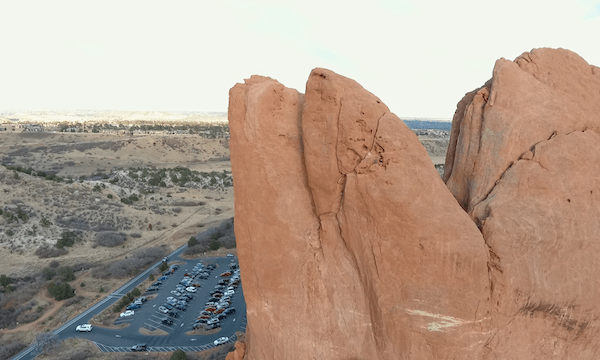 Garden of the Gods – Move up of Big Rocks #1