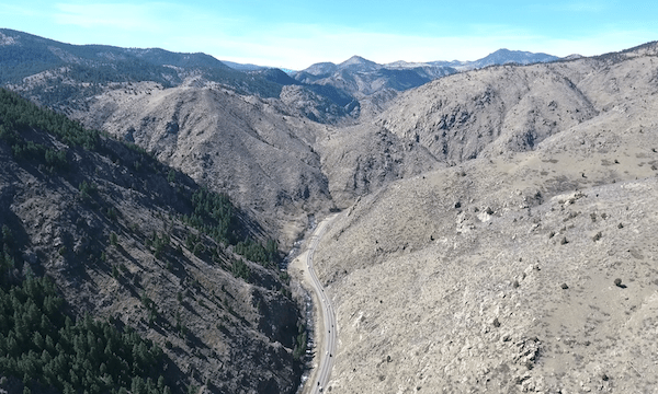 Golden Canyon – 1st Canyon Flight Pan Down