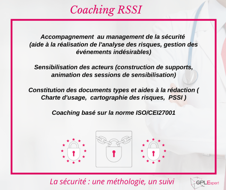 Accompagnement management securite coaching RSSI