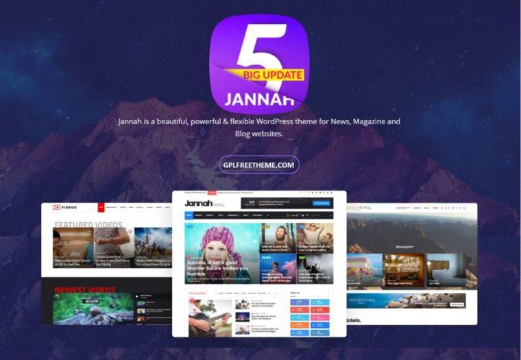 Jannah 5.3.2 WordPress Theme Free Download