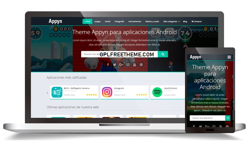 Appyn v2.0.4 - Themespixel WordPress Theme Free Download [Activated]
