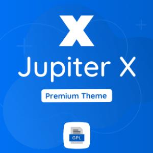 Jupiter X GPL Theme Download