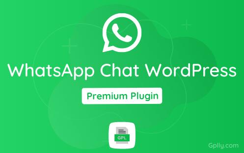 WhatsApp Chat WordPress GPL Plugin Download