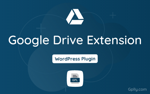Google Drive Extension GPL Plugin Download