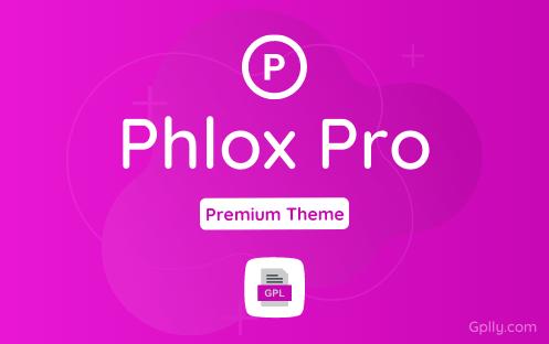 Phlox Pro GPL Theme Download