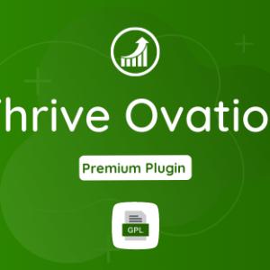 Thrive Ovation GPL Plugin Download