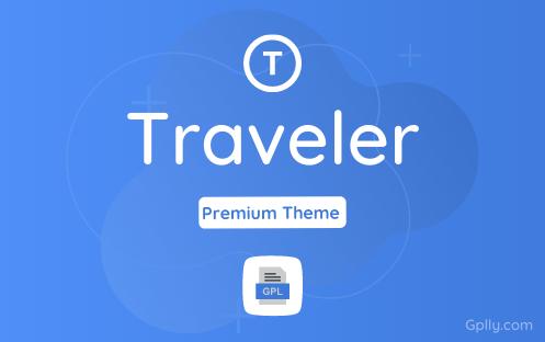 Traveler GPL Theme Download