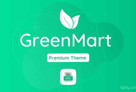 GreenMart GPL Theme Download