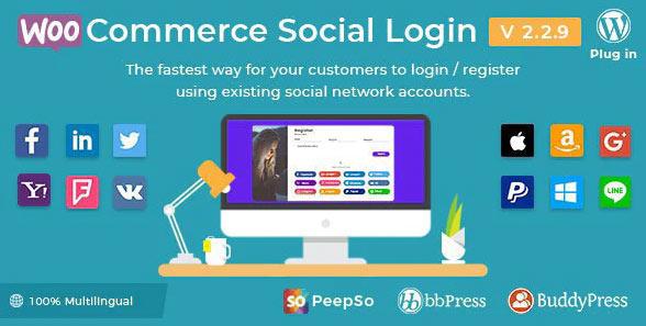 wp social login