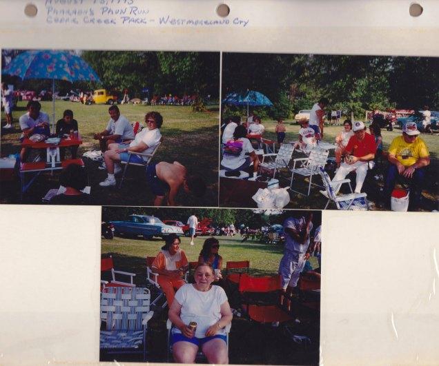 August 15, 1993: Pharaoh's Pun Run; Cedar Creek Park; Westmoreland City