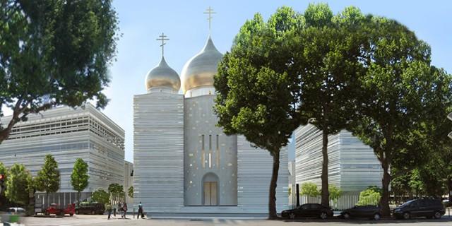 Centre orthodoxe (Crédits : Wilmotte et associés)