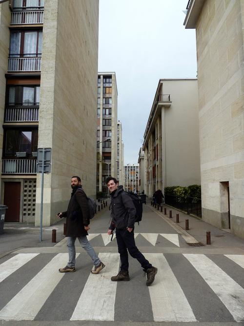 Résidence du Parc (Fernand Pouillon architecte, 1957-1962), Meudon-la-Forêt. Mars 2013 © Marvin Pougnet.