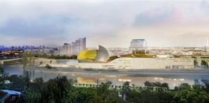 La Cité musicale - Crédit Shigeru Ban Architects Europe-Jean de Gastines Architectes