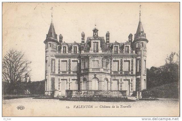 Le château des Tourelles en 1923