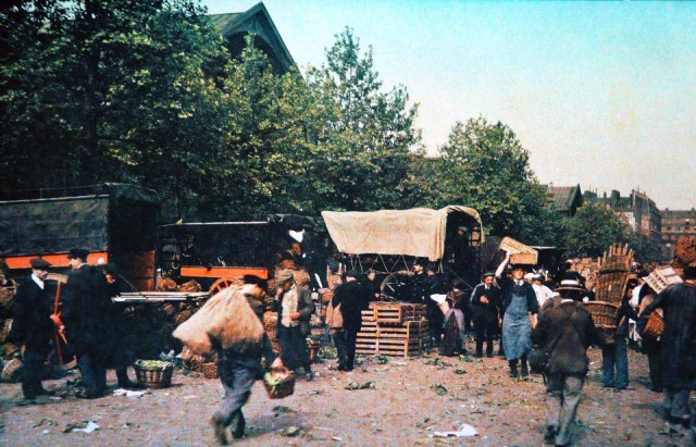 Carreau des Halles en 1913