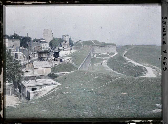 le Fortifications en 1914